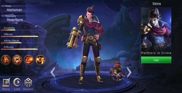 Mobile Legends, 5 Hero yang Akan Rilis di Original Server