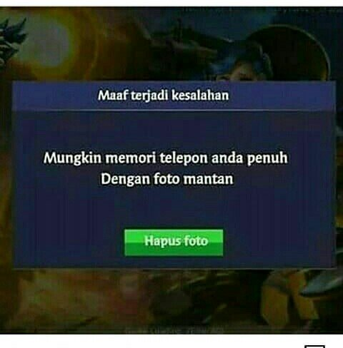 Kocak, Meme Mobile Legends Bikin Ngakak Serius ? Mobile Legends