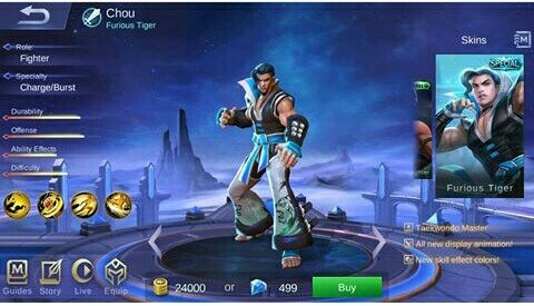 Ini GamePlay dan Skill Hero Baru Thamuz Mobile Legends