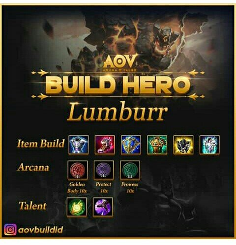 Update 10 Build Hero Arena Of Valor Part 1