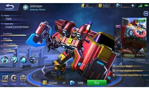 Update, Buruan Nabung 5 Skin Baru Mobile Legends dan Hero Baru
