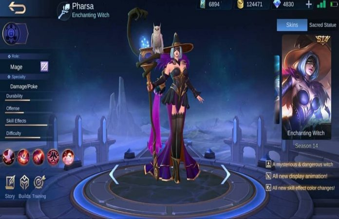 Season 14 MLBB - Pharsa Enchanting Witch