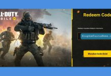 kode redeem codm call of duty mobile